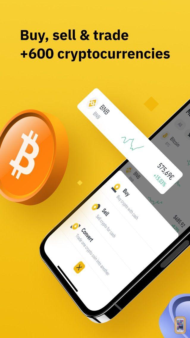 Screenshot - Binance - Crypto Trading App