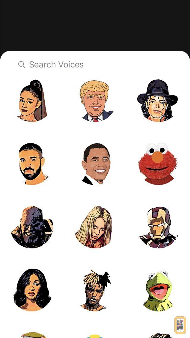Screenshot - imoji: AR Voice Changer Emojis