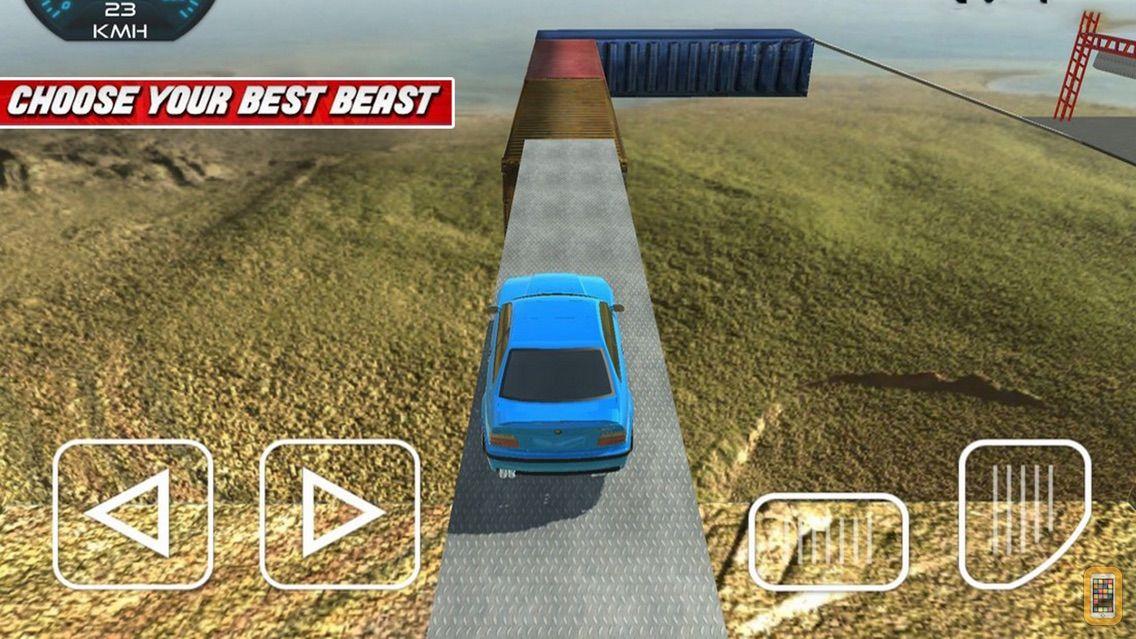 Screenshot - Car Stunts: Dragon Road 3D