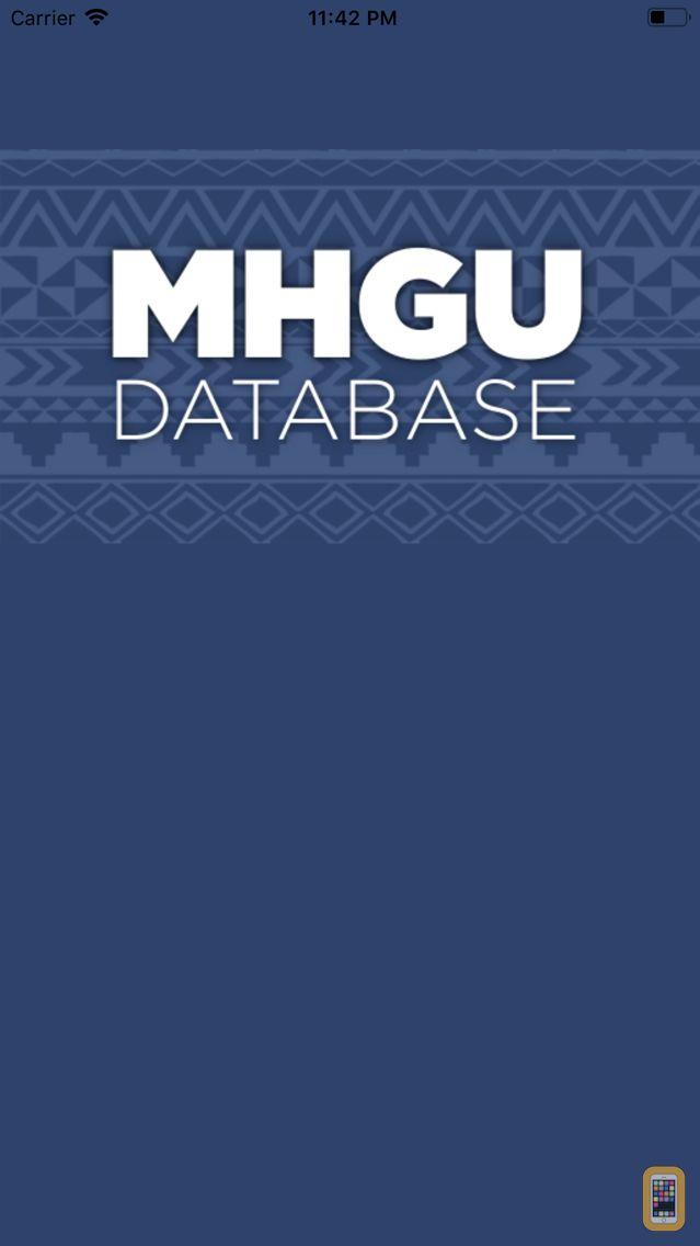 Screenshot - MHGU Database