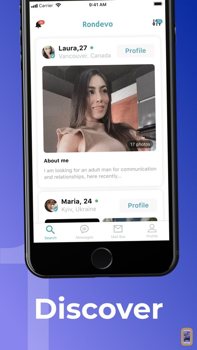 Screenshot - Rondevo - Dating & Chat App