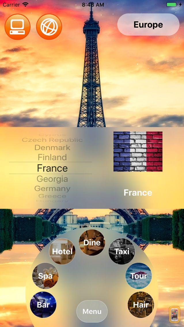 Screenshot - Worldwide Tipping Guide