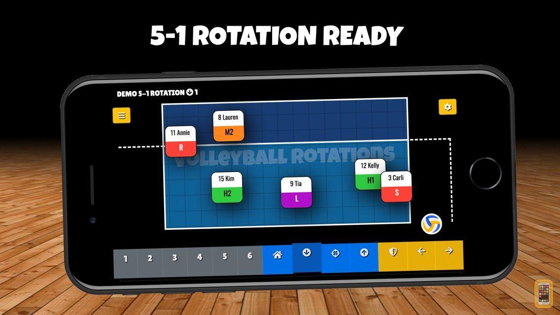 Screenshot - Volleyball Rotations