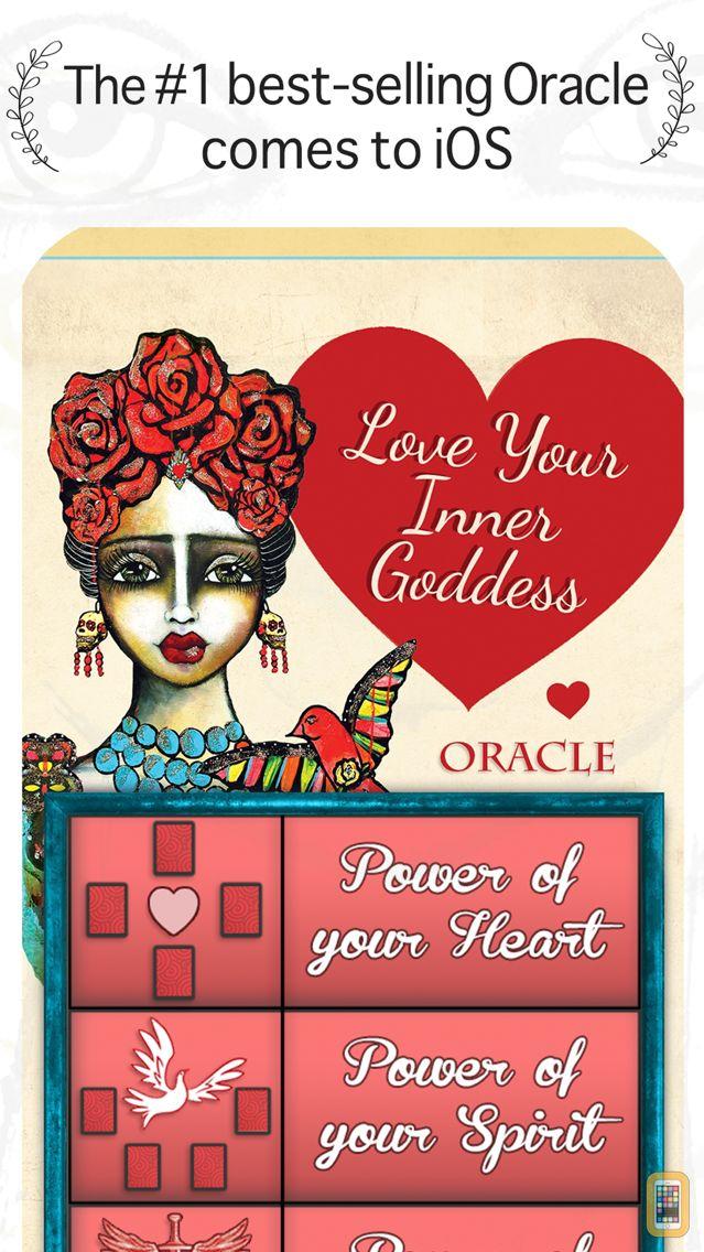 Screenshot - Love Your Inner Goddess Oracle
