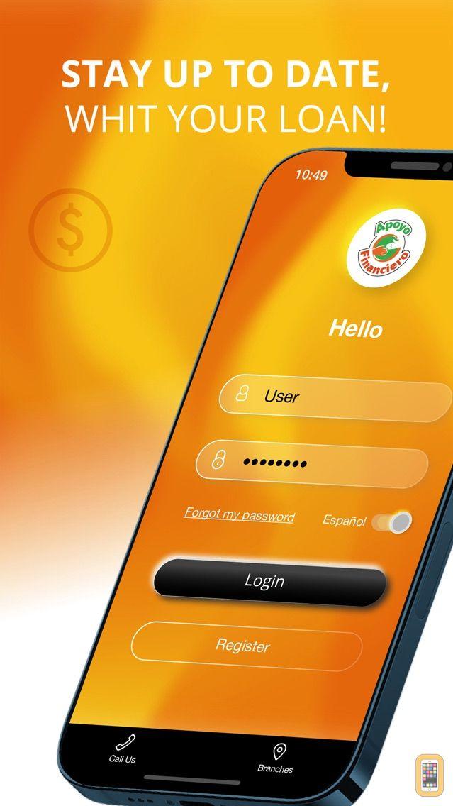 Screenshot - Apoyo Financiero Mobile
