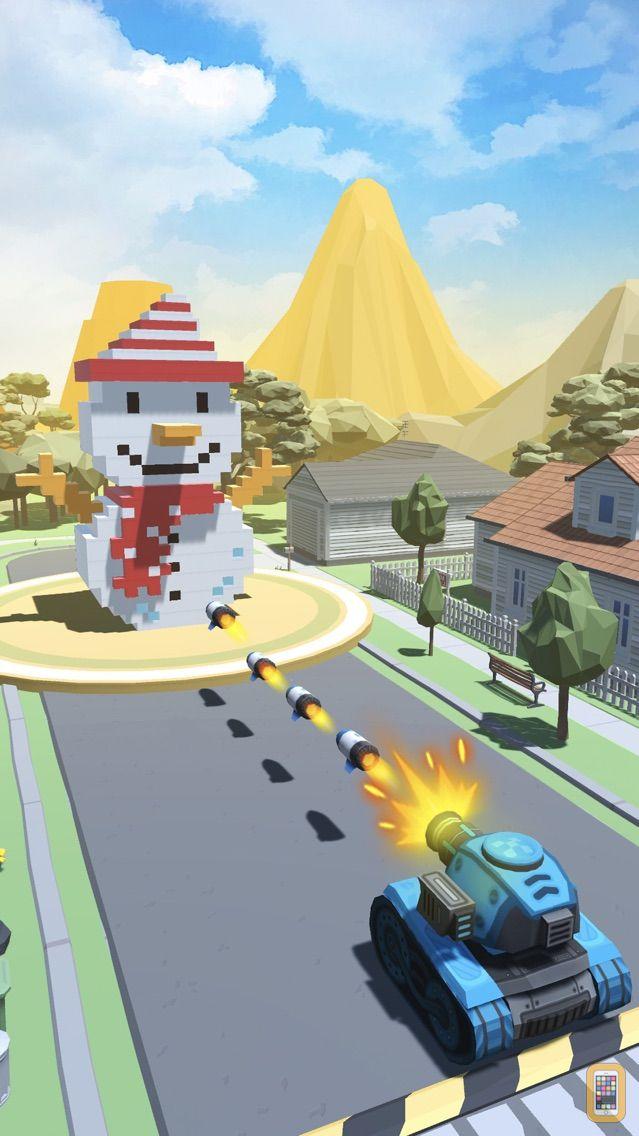 Screenshot - Fire Ball: Shoot Voxel Blast!