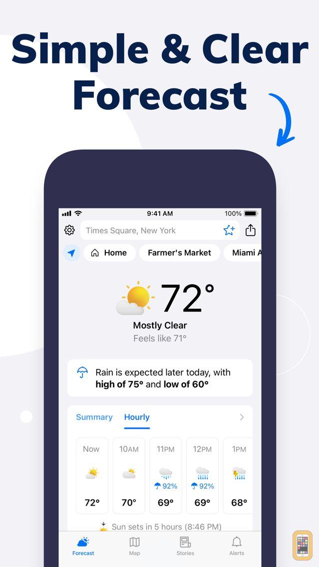 Screenshot - Weather by Tomorrow.io