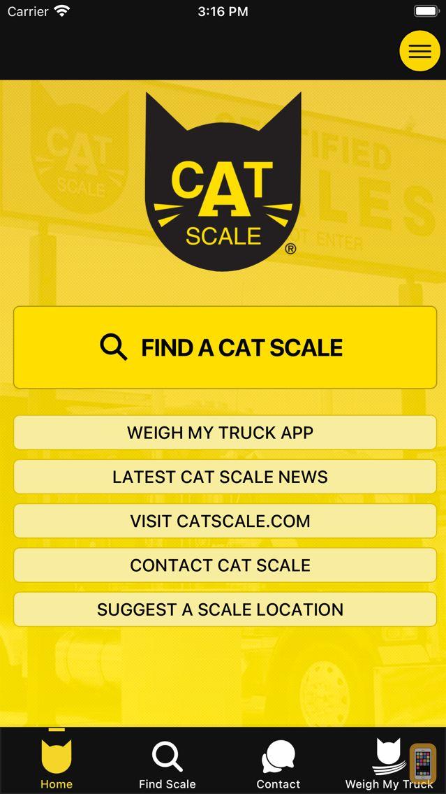 Screenshot - CAT Scale Locator