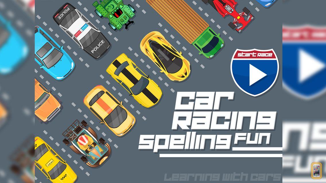 Screenshot - Car Racing Spelling Fun