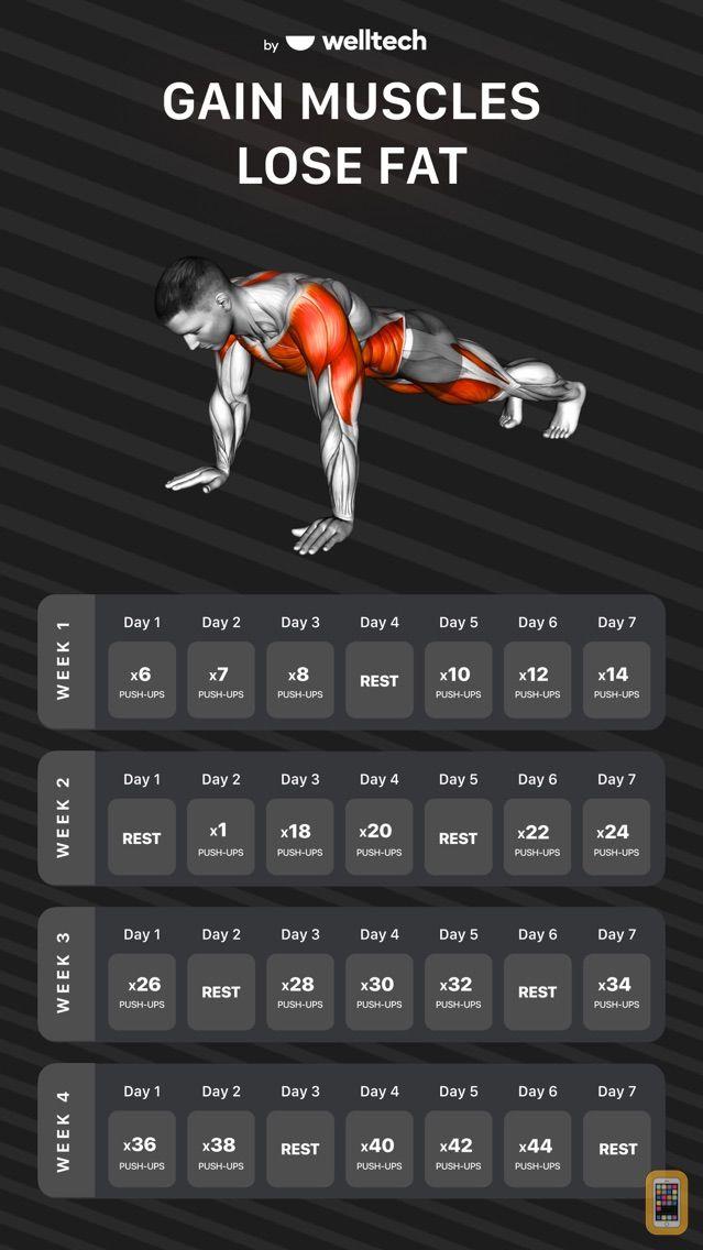 Screenshot - Muscle Booster Workout Tracker