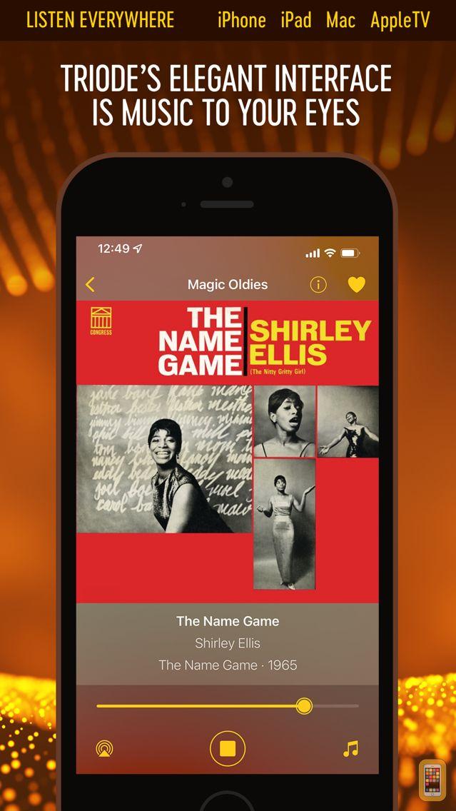 Screenshot - Triode - Internet Radio