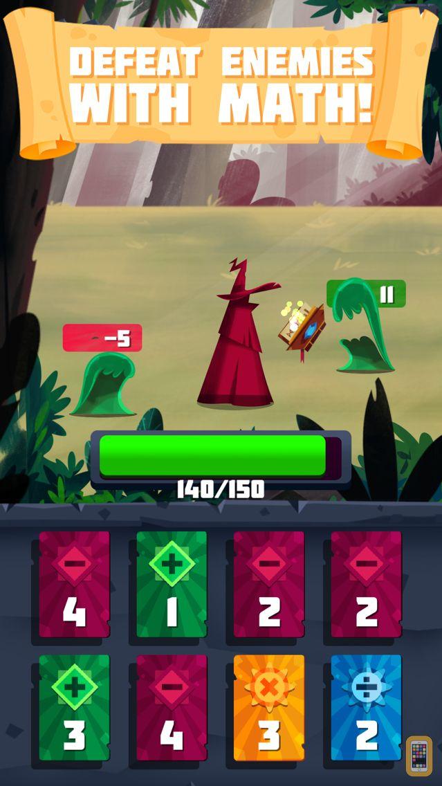 Screenshot - Arithmagic - Math Wizard Game