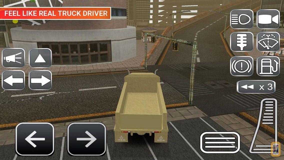 Screenshot - Ex Military Truck Driving