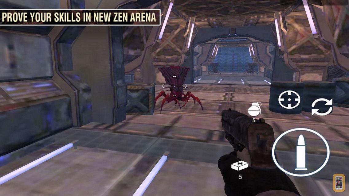 Screenshot - Alien Shooting: Spaceship Mons