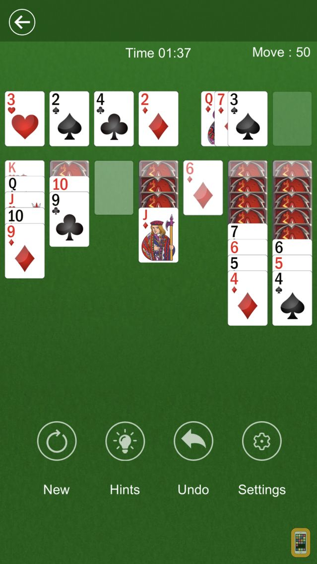 Screenshot - Solitaire: 300 Levels