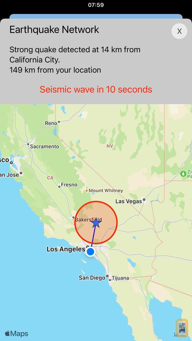 Screenshot - Earthquake Network