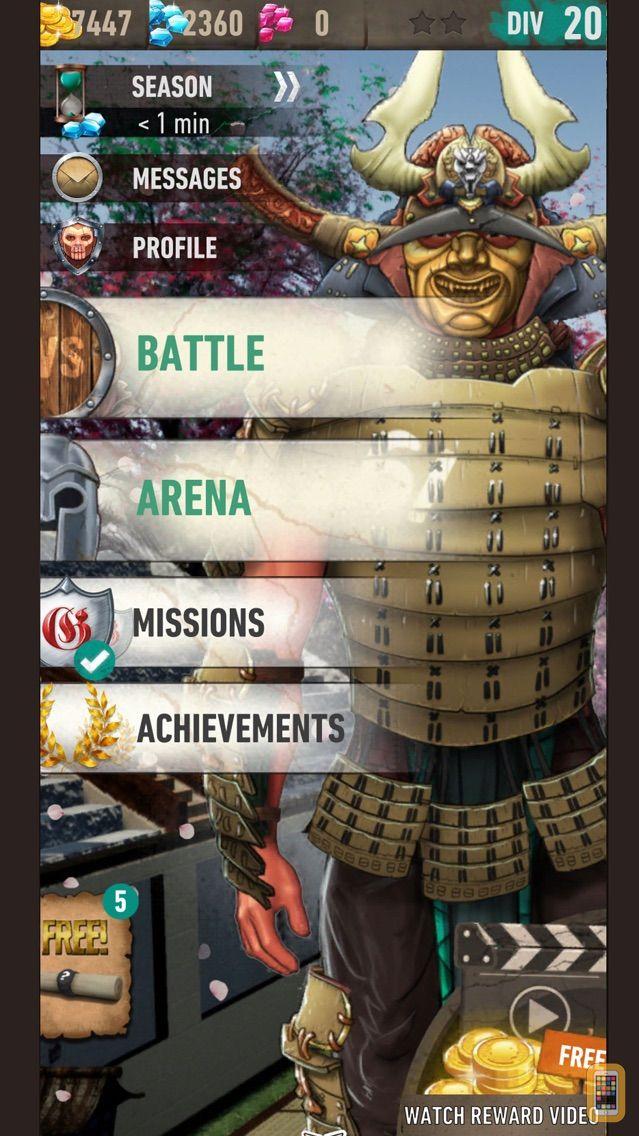 Screenshot - War of Tribes: RPG Battlefield