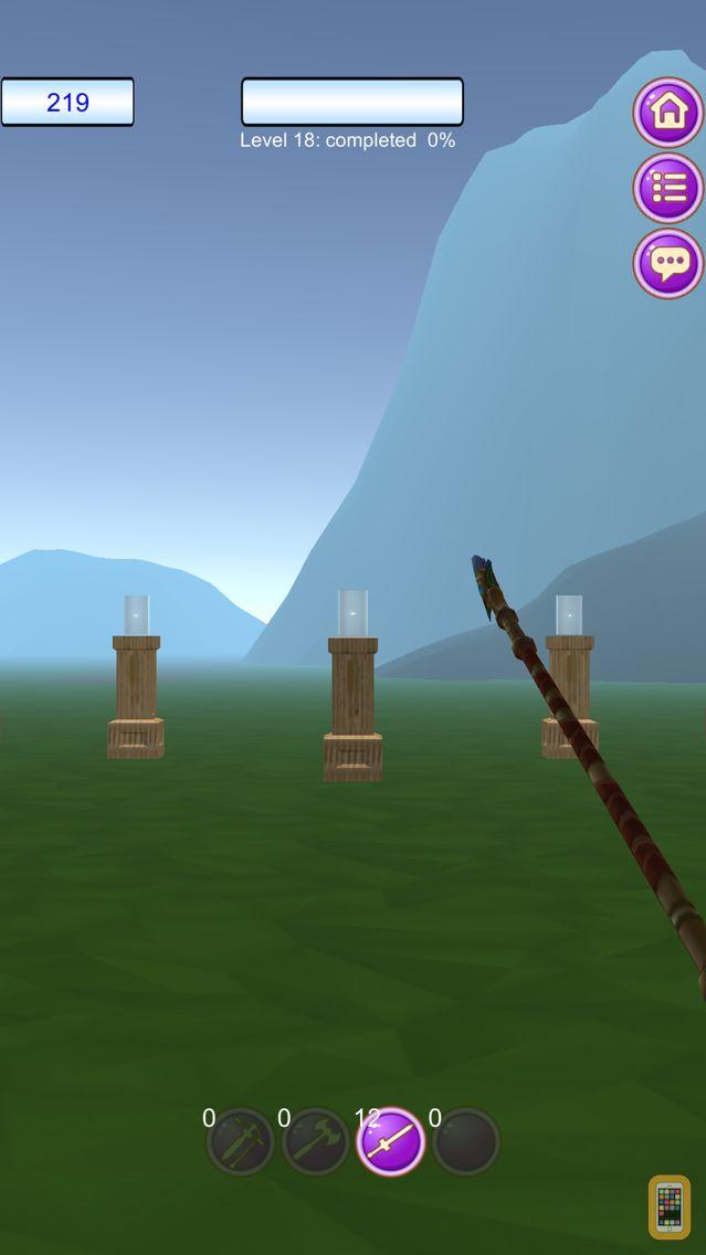 Screenshot - Axes vs Arrows