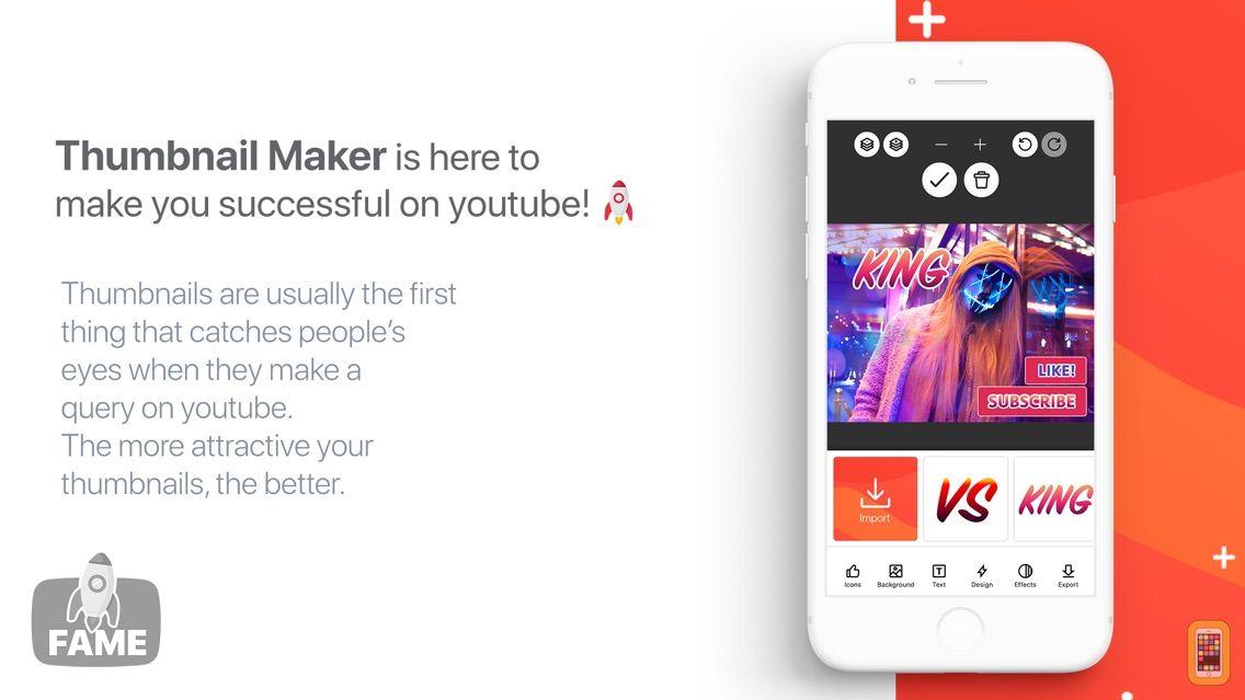 Screenshot - Fame - YT Thumbnail Maker