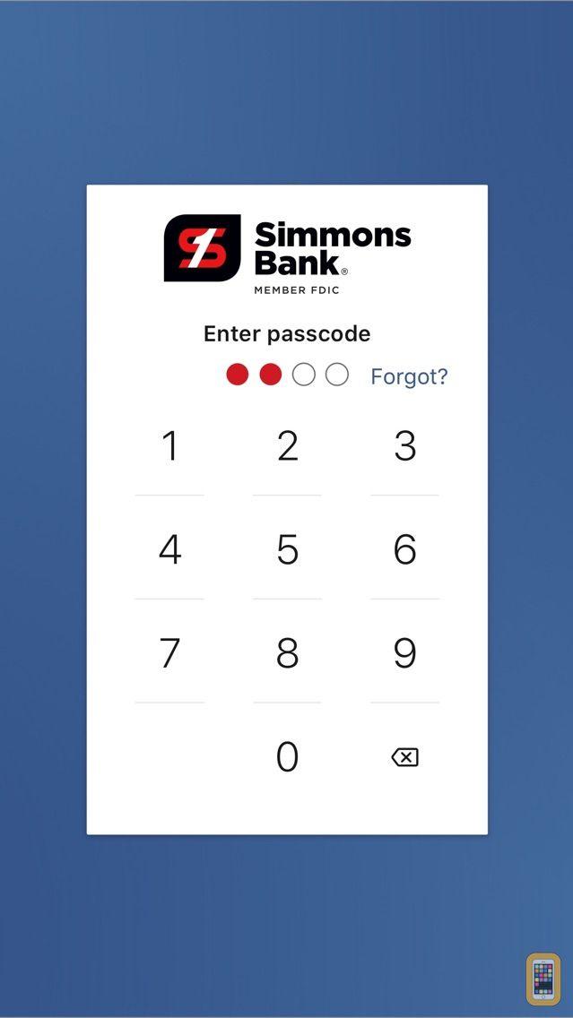 Screenshot - Simmons Bank