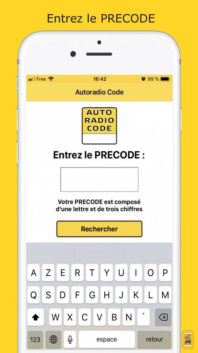 Screenshot - Car Radio Code