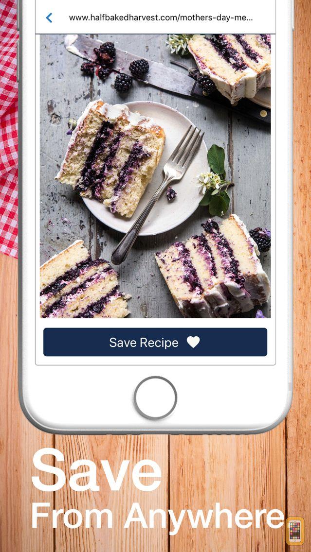 Screenshot - Pinch It! Recipe Box