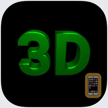 Banner 3D - scrolling text app by Laurie Cates (Universal)
