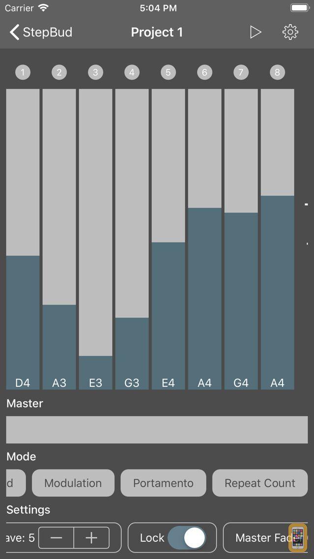 Screenshot - StepBud - AUv3 MIDI Sequencer
