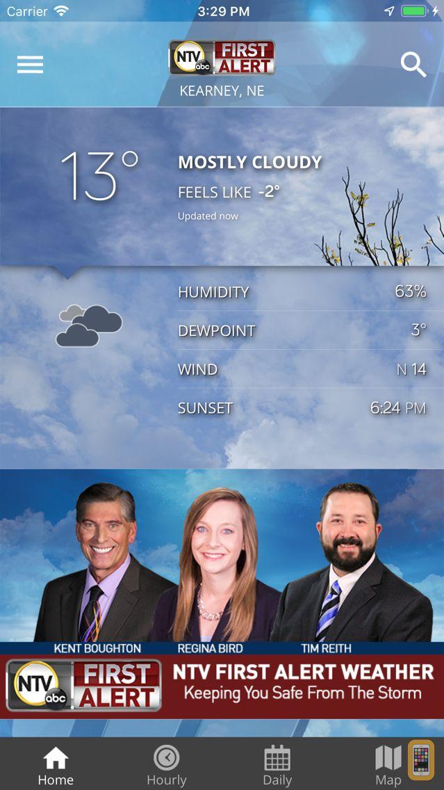 Screenshot - NTV First Alert Weather