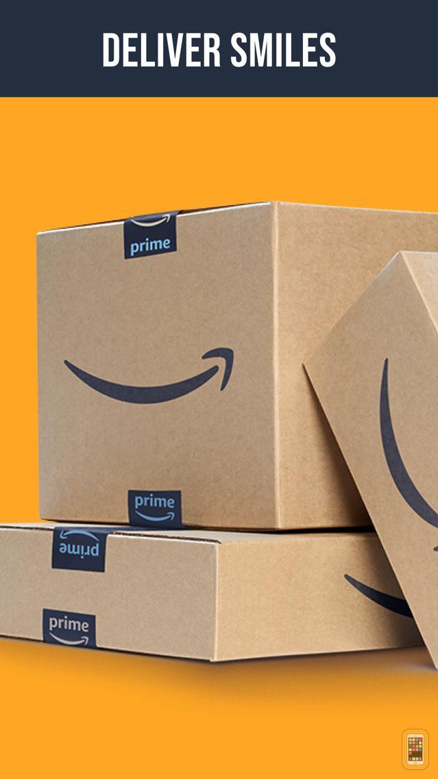 Screenshot - Amazon Flex
