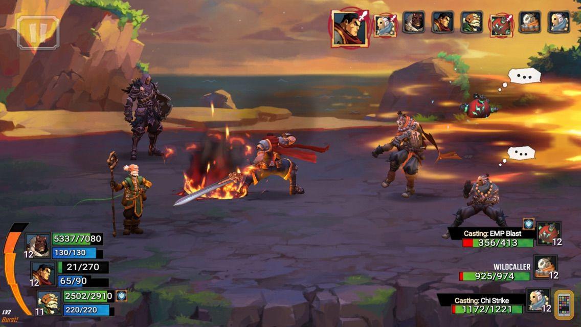 Screenshot - Battle Chasers: Nightwar