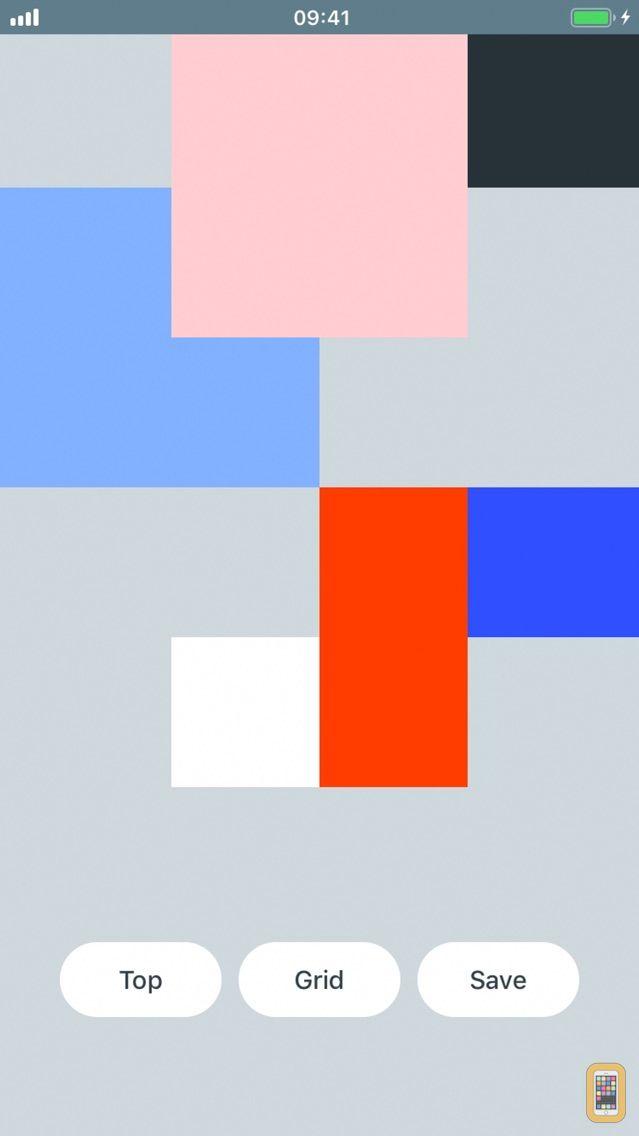 Screenshot - Grid Wallpaper