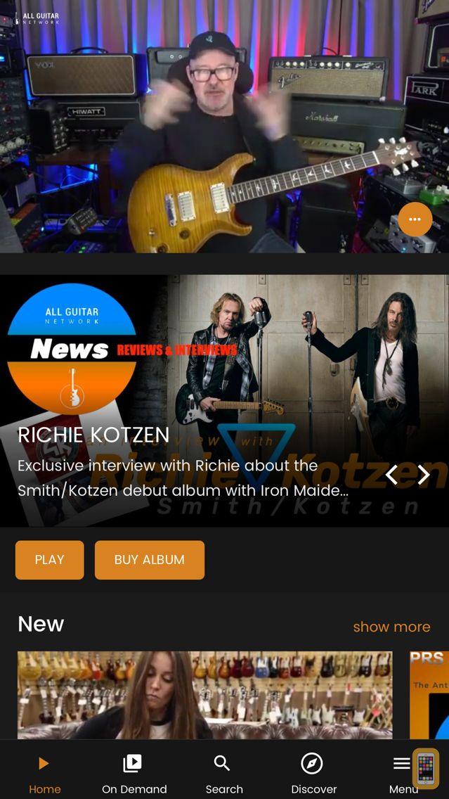 Screenshot - All Guitar Network