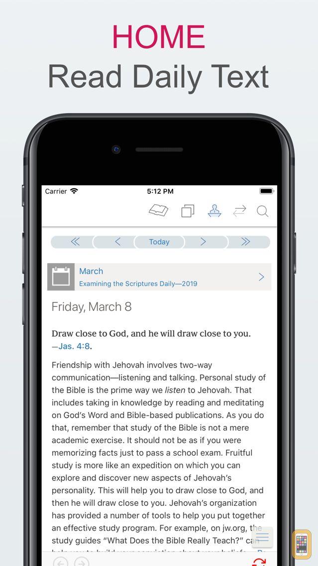 Screenshot - Examining The Scriptures Daily