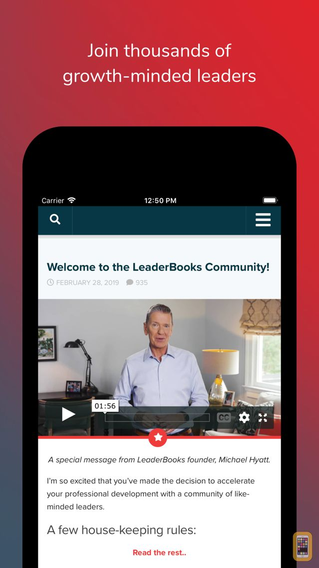 Screenshot - LeaderBooks