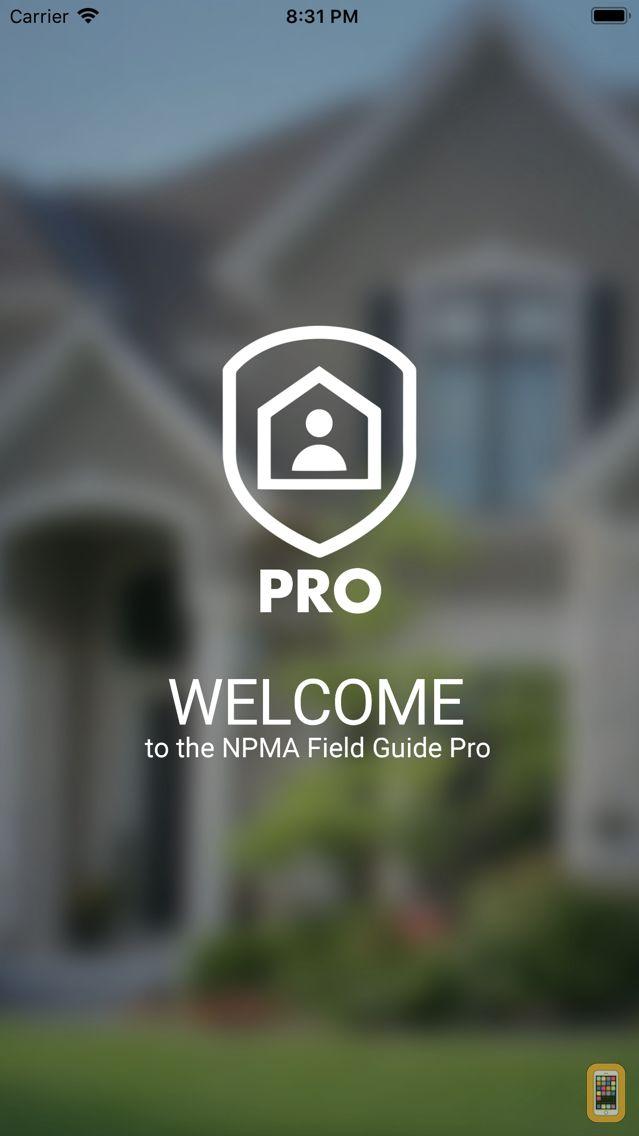 Screenshot - NPMA Field Guide PRO