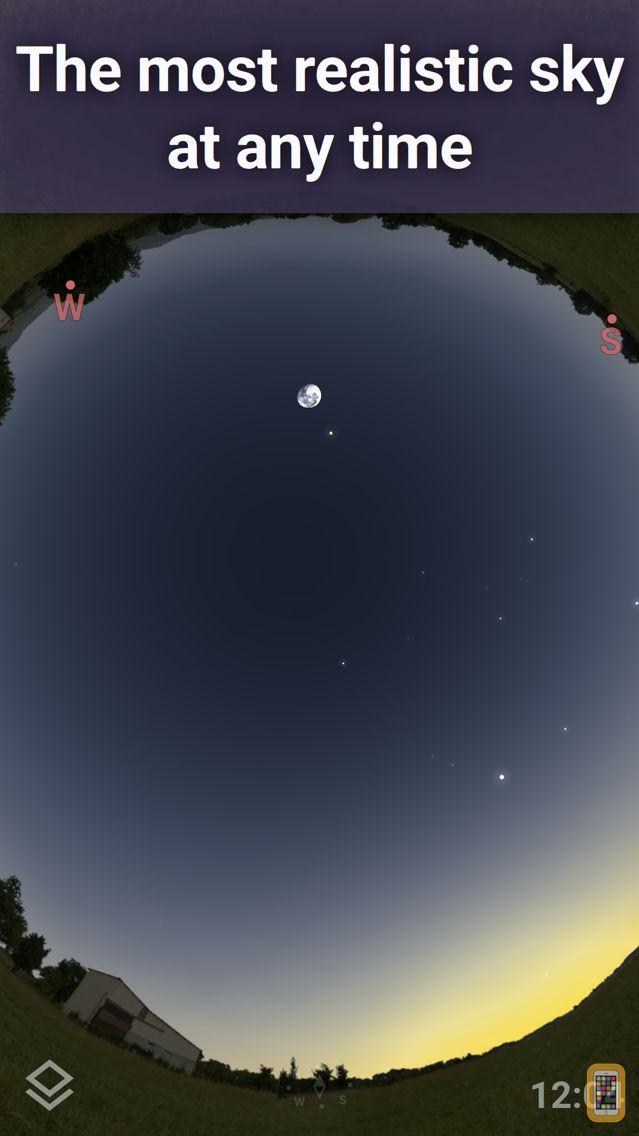 Screenshot - Stellarium PLUS