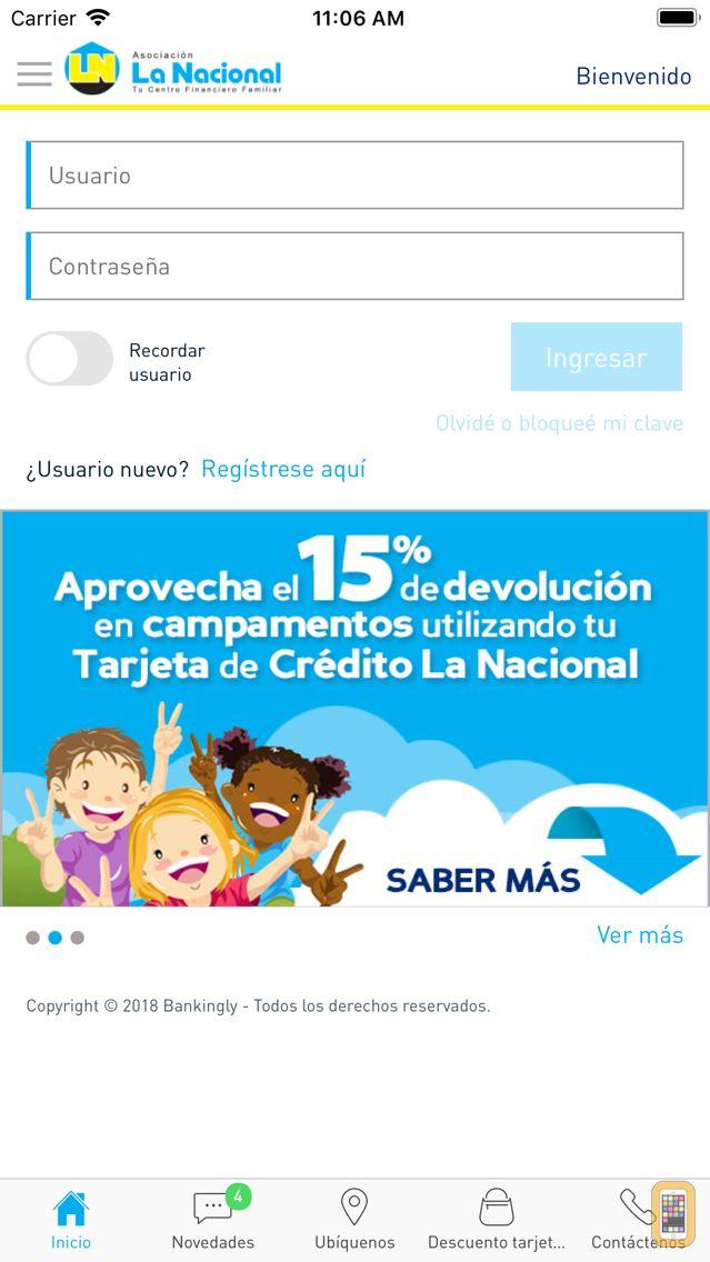 Screenshot - APP La Nacional