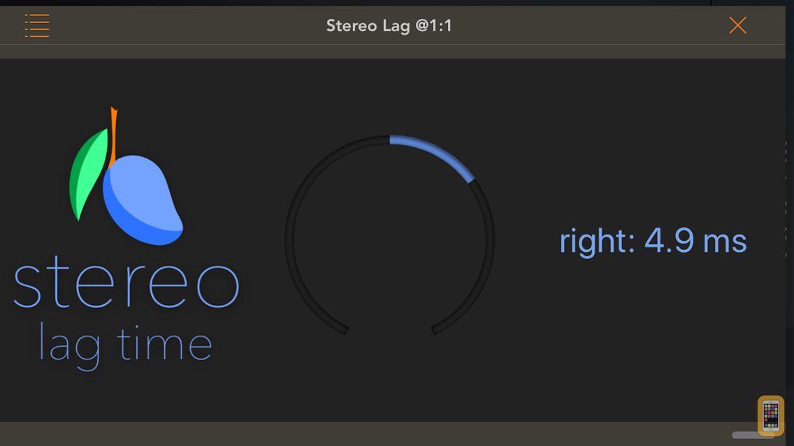 Screenshot - Stereo Lag Time