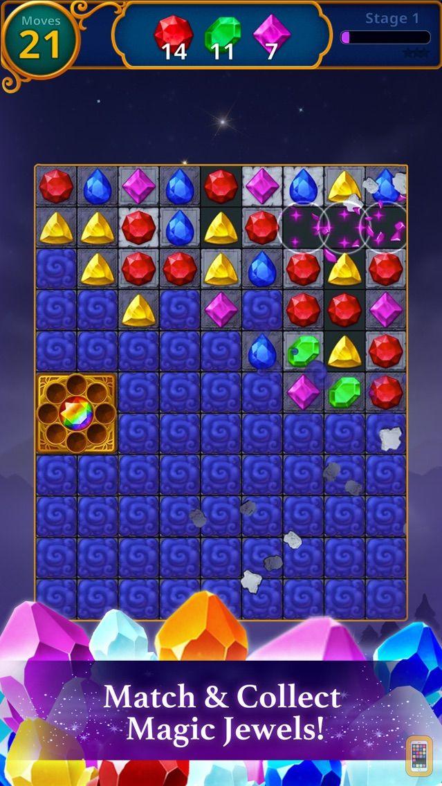 Screenshot - Jewels Magic: Mystery Match3