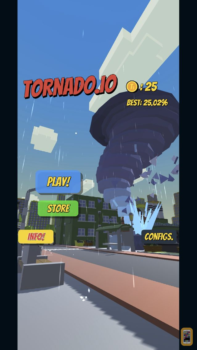 Screenshot - Tornado.io - The Game