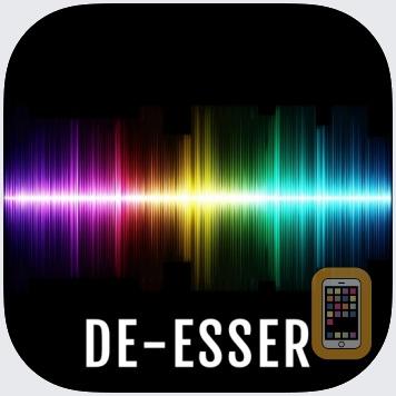 De-Esser AUv3 Audio Plugin by 4Pockets.com (Universal)