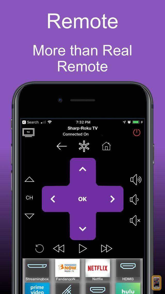 Screenshot - Roku TV Remote Control : iRoku