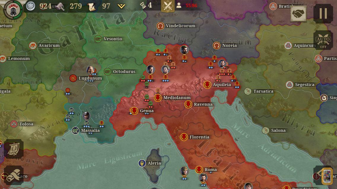 Screenshot - Great Conqueror: Rome