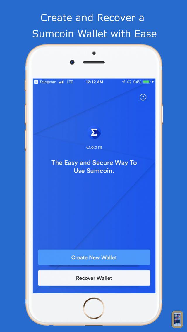 Screenshot - Slice Wallet | Sumcoin Wallet
