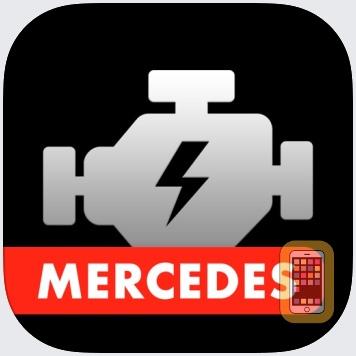 Mercedes App by Yerzhan Tleuov (iPhone)