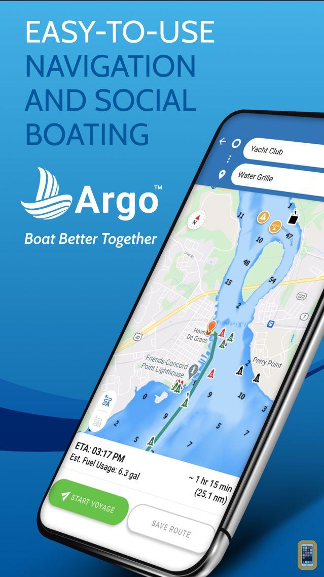 Screenshot - Argo - Boating Community & Map