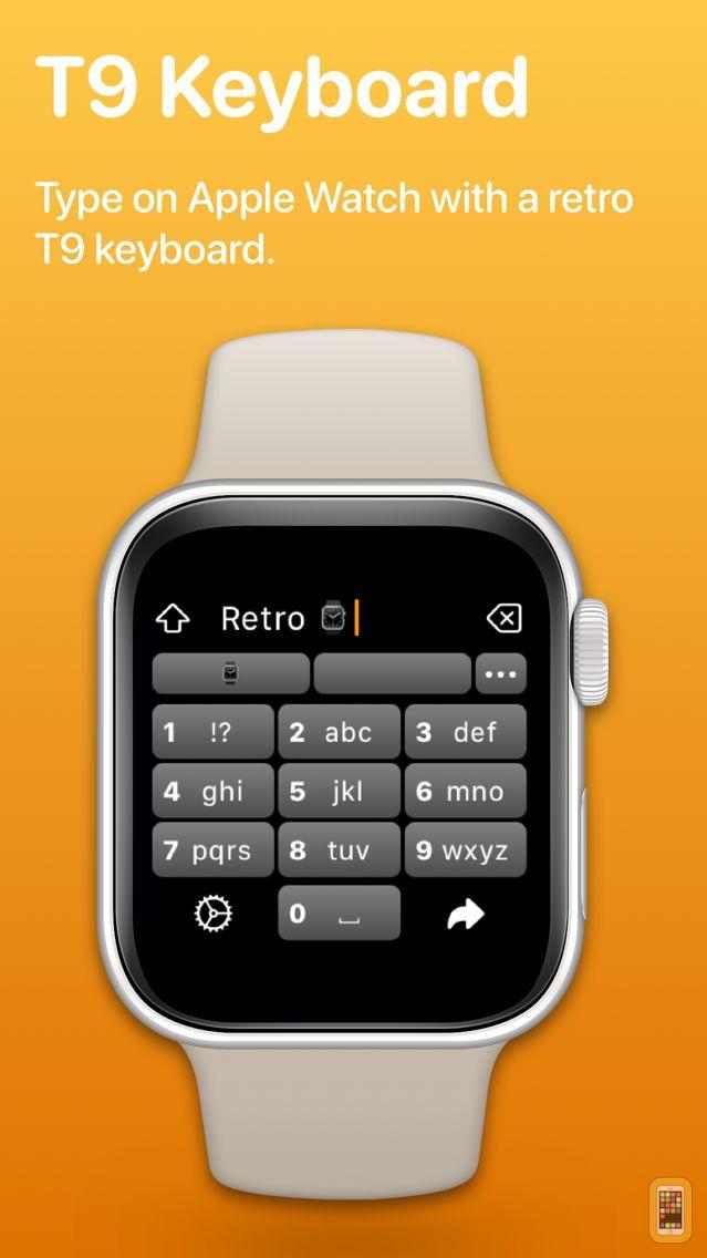 Screenshot - Retro Keyboard: Watch Keyboard