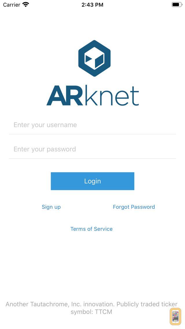 Screenshot - ARknet