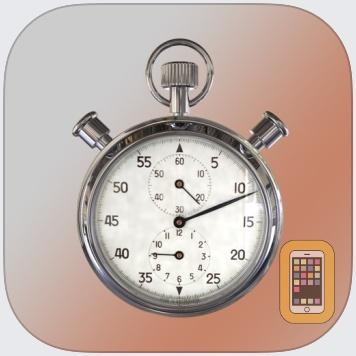ClockZone: Chrome Stopwatch Ed by Ben Scharbach (Universal)